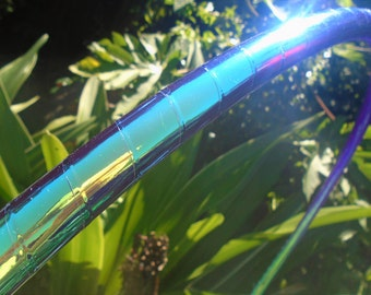 New! JuNgLe OrChiD MoRpH Deco Hula Hoop // Custom Tubing, Diameter and Grip Options!