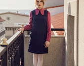 1960s Skinhead Pinafore Mod Dress mini scooter suedehead Custom made