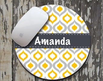 GOLDEN OGEE Personalized Mouse Pad, Personalized Mousepad, Monogrammed Mouse Pad, Monogrammed Mousepad, Custom Mouse Pad, Custom Mousepad