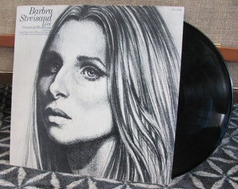 """Vintage """"Barbra Streisand Live Concert at the Forum"""" Vinyl Record Album - 1972 - CBS - People - On a Clear Day - Barbra"""