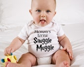 Funny Harry Potter Baby Onesie - Mommy's Little Snuggle Muggle