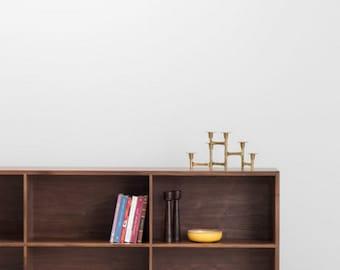 Douglas Bookcase - Solid Walnut Bookcase - Customizable