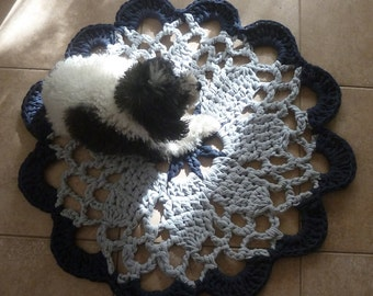 Mandala Crochet pattern Tarn Rug PDF or easy beginner crochet pattern doilies - INSTANT DOWNLOAD