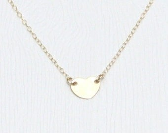 Have my heart necklace gold