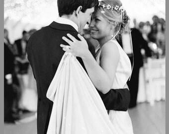 Minimal Bridal Floral Crown White daisy Rustic headpiece simple Beach Hair Wreath circlet wedding party accessories fairy halo headband