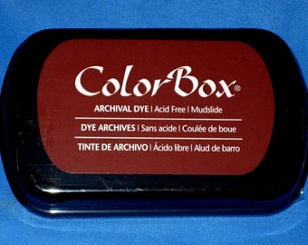Brown Ink Pad Color Box Archival Dye Inkpad Brown Permanent Ink Pad for Your Coffee Stamp Made in the USA Stamp Pad Brown Ink