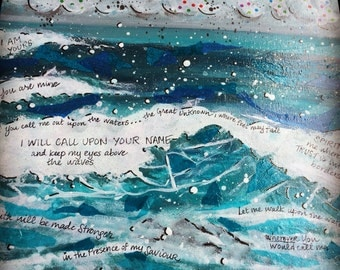 "Oceans of Faith (lyrics from ""Oceans"" by Hillsong United)"