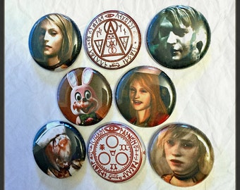 """Silent Hill 1"""" Button Choose Your Own"""