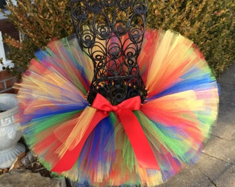 Uno Birthday, First birthday tutu, Multi colored tutu, Newborn Tutu, Baby Tutu, Tutus for children, 1st birthday tutus, birthday tutu