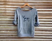 let me think on it Corgi Shirt, Corgi Sweater, Cozy Sweater, S,M,L,XL