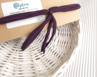 The Fringe FiveBand, gym headband, purple fabric headband, fabric headband, girl headband, recycled fabric headband, fabric headband, hippie