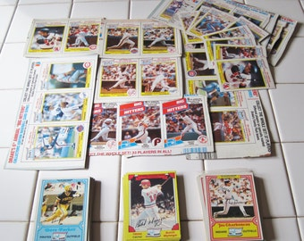 Drake's Box Baseball Card - Mixed Lot 75+ Cards 1980's Jackson, Schmidt, Hernandez, Winfield, Strawberry
