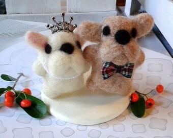 French Bulldog Cake Topper Etsy Uk
