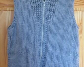 Knit Vest with Pockets
