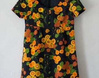 floral babydoll dress - M