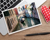 Venice Italy Photo Notecard, Italy Notecard, Travel Card, Travel Notecard, Travel Photo Card, Blank Photo Notecard, Venice Photography