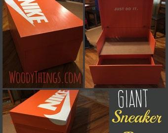 Giant Sneaker Box