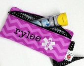 Personalized Insulated Medicine Case for EpiPens or AuviQ Epinephrine Autoinjectors by Alert Wear