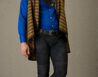 SUPER SALE Men's clothing - short wool vest vest for men, men's fashion // unisex fashion, men's vest, men's gift