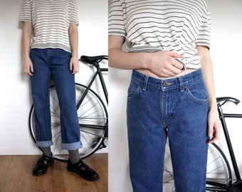 Denim Straight-Leg Jeans