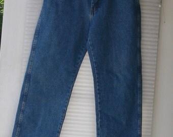 wranger blue jeans   33x30 jeans