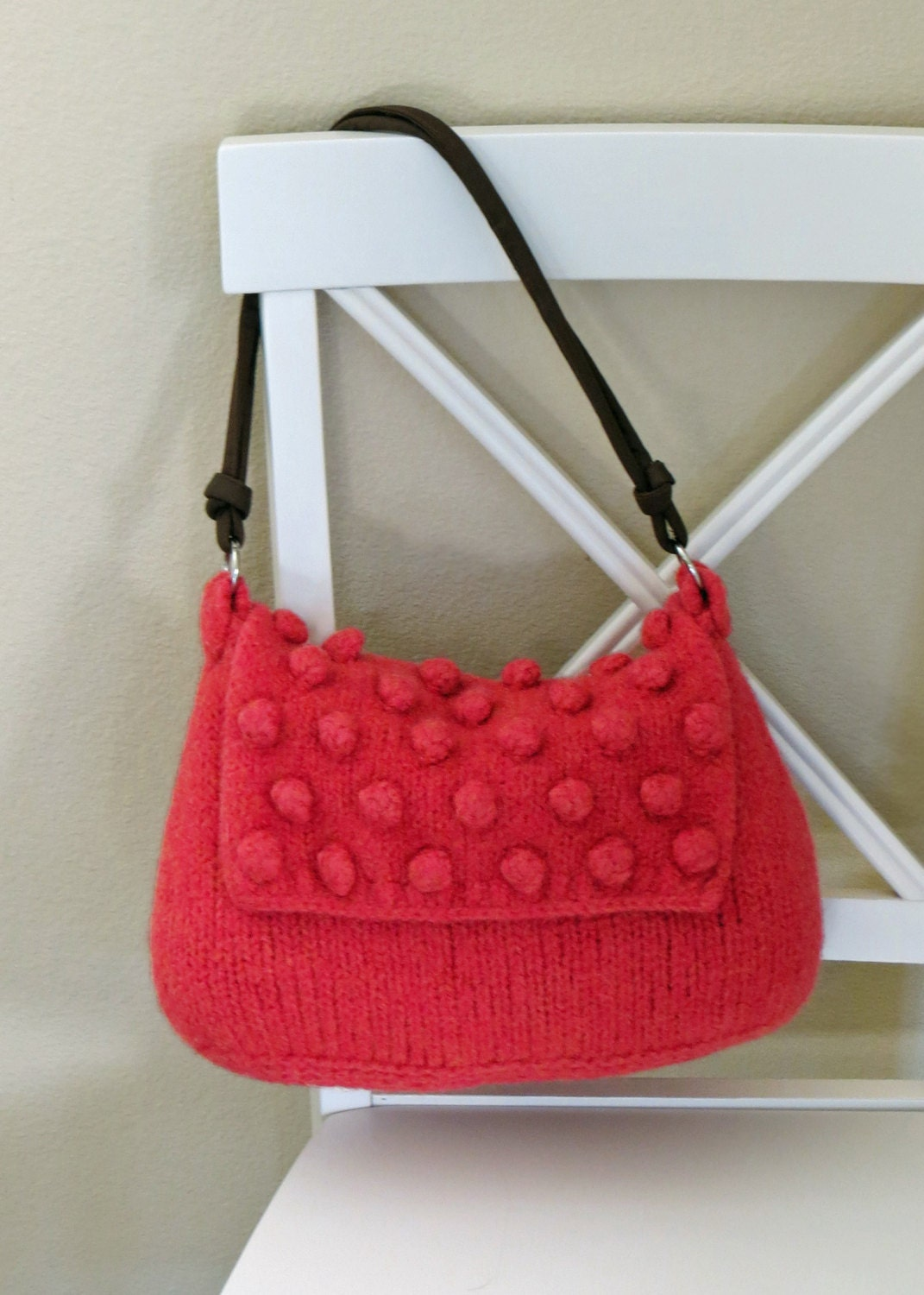 Felted Purse Pattern Knit Bag Pattern Felted Purse Knitted