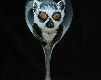 Lemur Wine glass