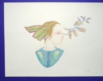 Kate, original drawing
