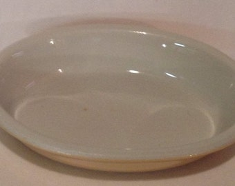 Vintage Hall Dish Made in America  Peach