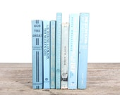 Antique Books / Vintage Mixed Book Set / Decorative Books Old Books / Vintage Books Blue Green Books / Books by Color / Books for Decor