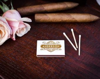 Wedding Monogram Matches, Cigar Bar Matches, Custom Matchbox, Wedding Favors, Sparkler Matches, Wedding Matchboxes, Wedding Matchboxes, 1441