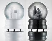 Cleveland Snow Globes (White Downtown or Gray Steel Mills)