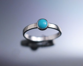 Sleeping Beauty Turquoise Turquoise Ring Natural Turquoise Arizona Turquoise December birthstone Turquoise Ring Band real Turquoise Ring