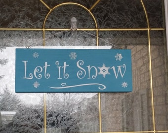 Custom Ready To Hang Hand Painted Wood Sign For The Holidays