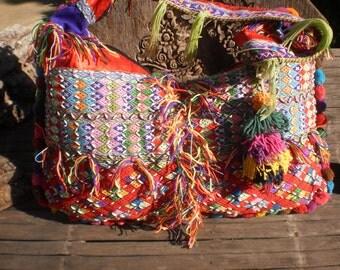 Karen Hilltribe Textile Tribal Shoulder Bag