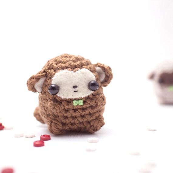 Amigurumi Little Animals : amigurumi monkey plush