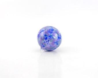 Purple Blown Glass Ornament - Blown Glass Ball - O24