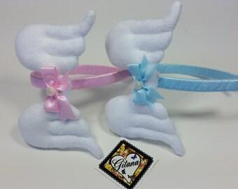 Angel Wings Headband-Lolita Headband-Women Headband-Lolita Accessories-fairy Kei-Kawaii-Angel Wings