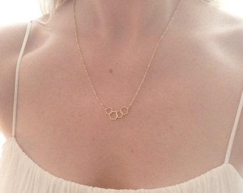 Minimalist jewelry gold, Hexagon necklace,honeycomb necklace, honey comb necklace, delicate gold necklace,minimalist necklace gold,bynordvik