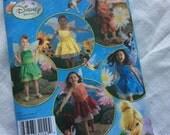 Simplicity Disney Tinker Bell pattern uncut 2872 dress size 3 4 5 6 7 8 A wings