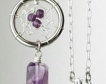 Dreamcatcher Pendant Necklace