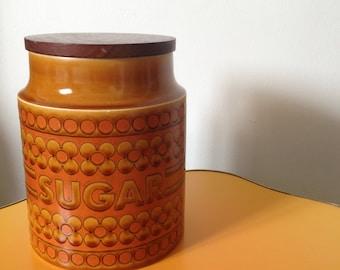 Vintage 1970s Hornsea Sugar Pot