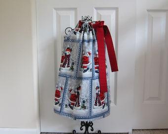 SALE  -  Pillowcase Dress  - Holiday Dress  - Girls Size 6 - Snowman -  Ready-to-Ship by Emma Jane Company