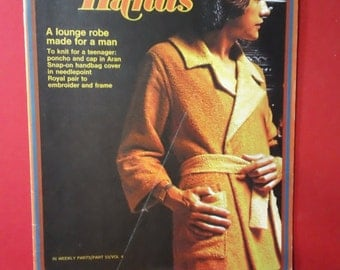 Golden Hands ~ Part 53 Volume 4  ~ Vintage 1972 Sewing Stitchery Magazine Back Issue