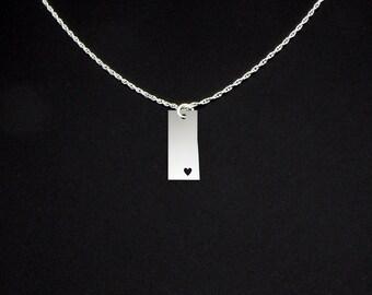 Saskatchewan Necklace - Saskatchewan Jewelry - Saskatchewan Gift
