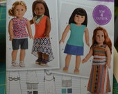 American Girl Simplicity Pattern S0170 Sew 4 Outfits ~ New