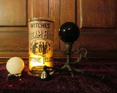 Candle Snuffer (Pentagram) ONLY: Incense, charcoal, apothecary, smudging, scents, witch, witchcraft, pagan, witchery, ritual, altar, candles
