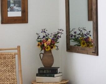 SET OF TWO 24x30 Pair Reclaimed Wood Bathroom Mirror