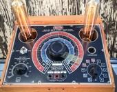 Reclaimed Capacitor Analyzer Lamp