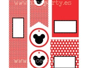 Printable party pack Mickey